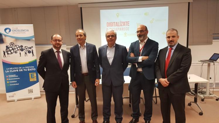 Redur presenta su apuesta por la innovación en el foro del Club de Excelencia en Gestión 'Digitalízate o desaparece'